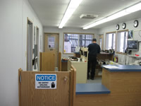 Shipping Receiving Office Interior